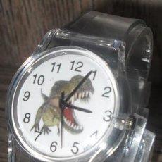 Relojes: RELOJ DINOSAURIO (CORREA TRANSPARENTE). Lote 119401743