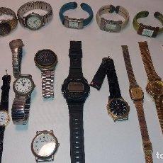 Relojes: LOTE 16 RELOJES DE PULSERA CARVEL, OMAX, SUPERVATOH.... Lote 119577383
