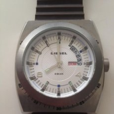 Relojes: RELOJ MASCULINO DIESEL 5 BAR /2000'S. Lote 119610455