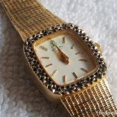 Relojes: BONITO RELOJ ROTARY MUJER 21 CM LARGO Y 15 MM X 17 MM CAJA. Lote 120643475