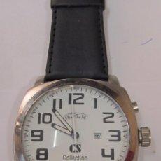 Relojes: RELOJ GRANDE DE CUARZO, CS COLLECTION. Lote 120828031