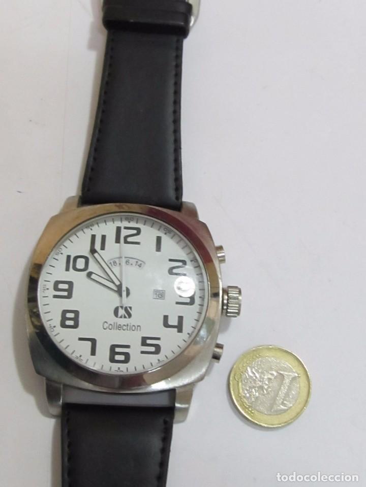 Relojes: RELOJ GRANDE DE CUARZO, CS COLLECTION - Foto 2 - 120828031