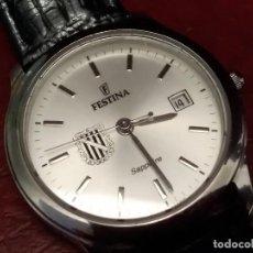 Relojes: RELOJ ( FESTINA SAPPHIRE CRISTAL F 20002) REGISTERED MODEL. SWISS MADE. RARO CON ESCUDO. ED LIMTED.. Lote 120917907