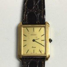 Relojes: RELOJ GRATENY QUARZO EN CAJA CHAPADA Y CORREA DE PIEL ELEGANTE. Lote 120975094