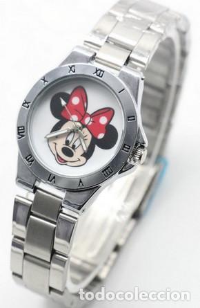 Metal Reloj Minnie De Mousemodel 2correa 54A3LRj