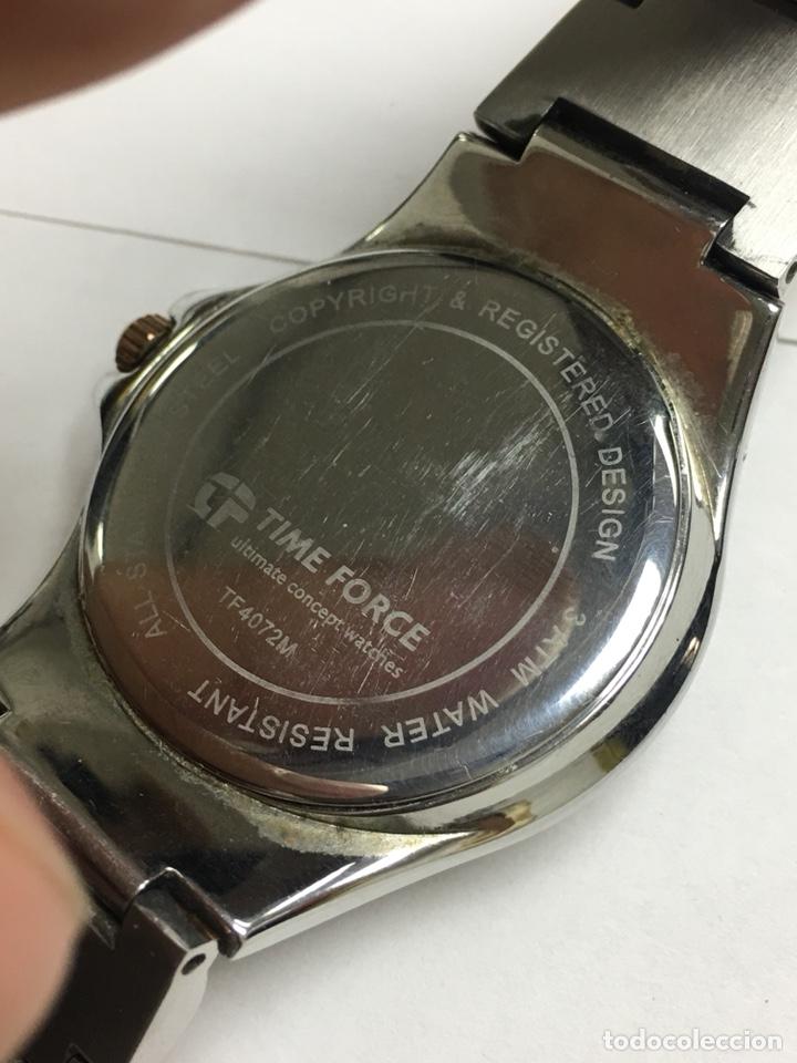 Relojes: Reloj Time Forcé TF4072M en acero completo en su caja buena conservación - Foto 5 - 121336198