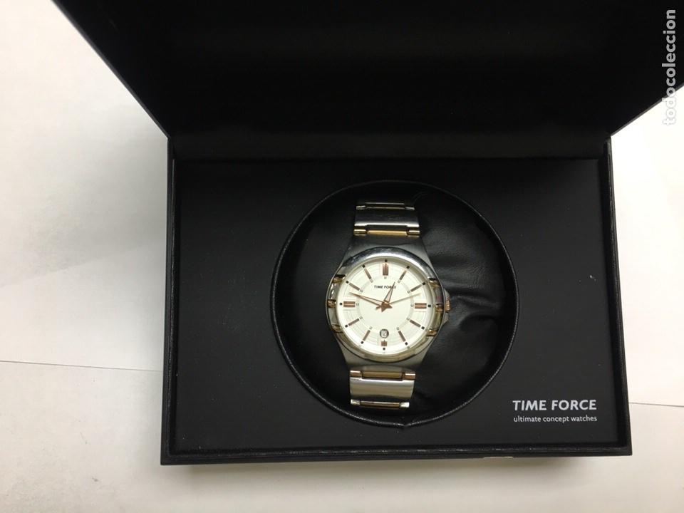 Relojes: Reloj Time Forcé TF4072M en acero completo en su caja buena conservación - Foto 7 - 121336198