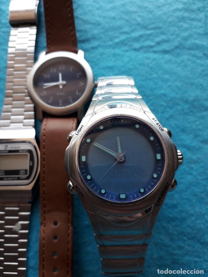 Relojes: Lote de 5 Relojes de cuarzo para Caballero. - Foto 2 - 121343091