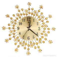 Relojes: RELOJ CRISTAL-SIMIL BRILLANTES-NUEVO-PRECIOSO-BODA-COMUNIÓN-NAVIDAD-REGALO-ASI-. Lote 121562119