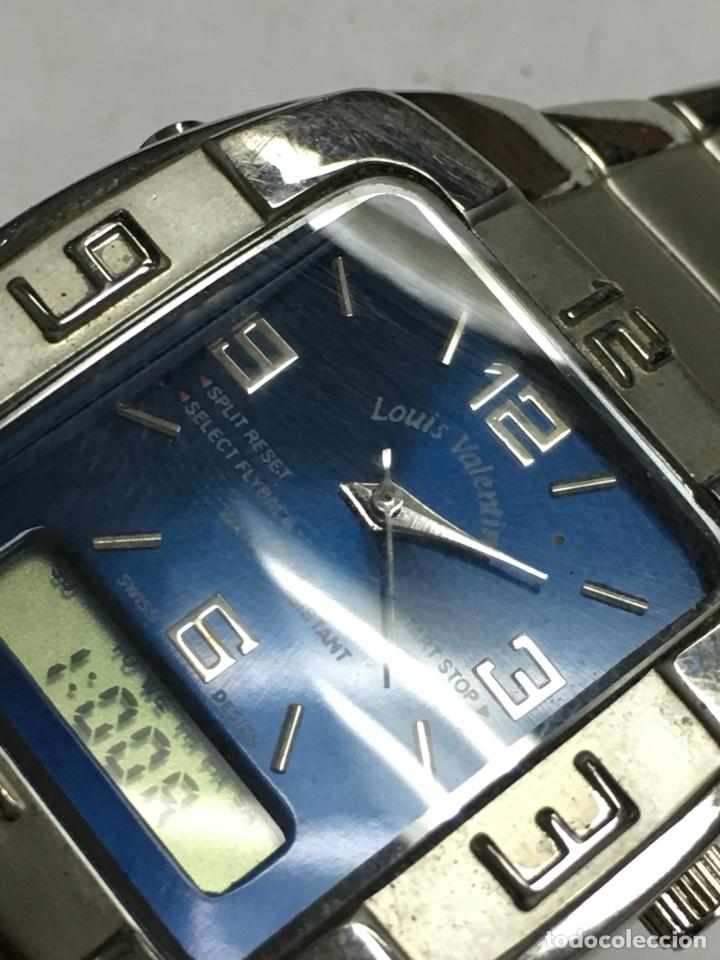 2f2fc323a185 Relojes  Reloj Louis Valentín analógico y digital de los primeros para  coleccionistas - Foto 2