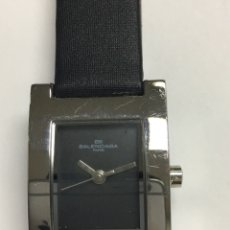 Relojes: PRECIOSO RELOJ DE MUJER BALENCIAGA PARÍS QUARZ- FUNCIONA. Lote 121648971