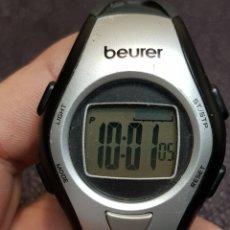 Relojes: RELOJ BEUER MODELO STR 218 ,89077 CON PULSACIONES. Lote 121364387