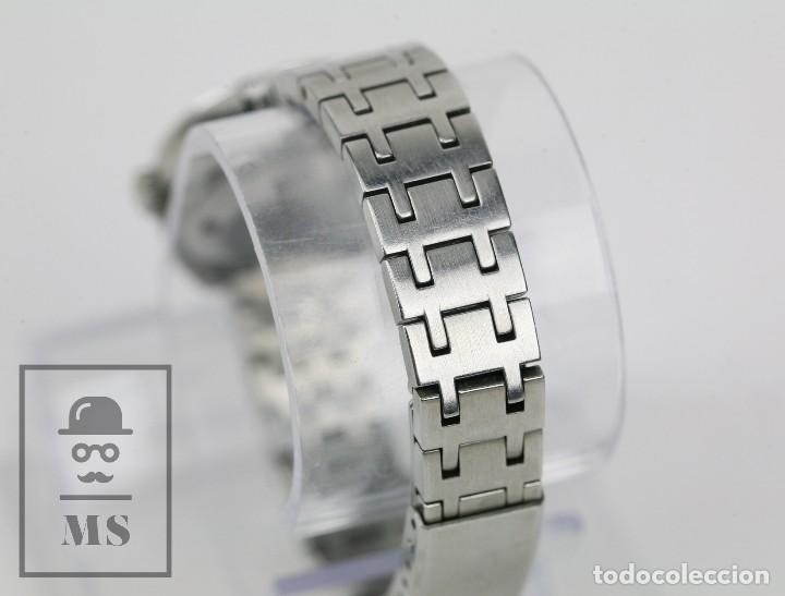 Relojes: Reloj Pulsera Automático Titus Matic de Mujer - 21 Jewels / Calendario - Correa Eslabones - Funciona - Foto 5 - 121995003