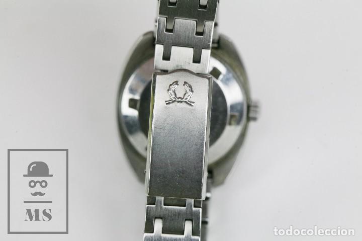 Relojes: Reloj Pulsera Automático Titus Matic de Mujer - 21 Jewels / Calendario - Correa Eslabones - Funciona - Foto 6 - 121995003