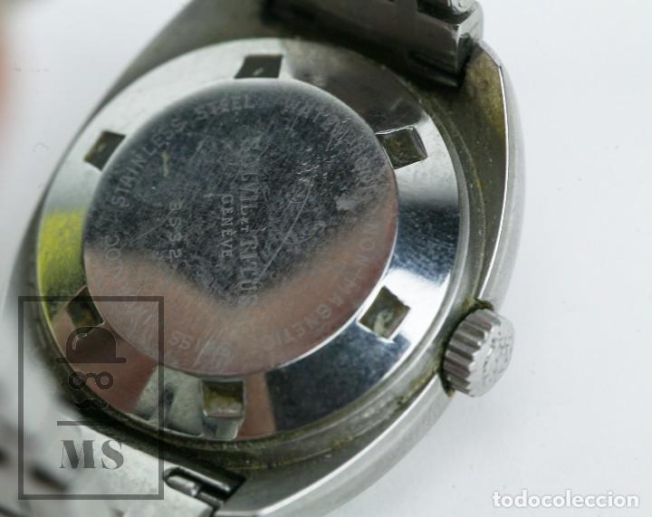 Relojes: Reloj Pulsera Automático Titus Matic de Mujer - 21 Jewels / Calendario - Correa Eslabones - Funciona - Foto 7 - 121995003