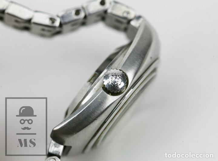 Relojes: Reloj Pulsera Automático Titus Matic de Mujer - 21 Jewels / Calendario - Correa Eslabones - Funciona - Foto 8 - 121995003