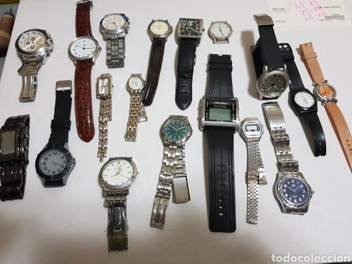 RELOJES QUARZO LOTE 18 VARIAS MARCAS (Relojes - Relojes Actuales - Otros)
