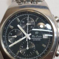 Relojes: RELOJ CRONOGRAFO MX ONDA QUARZO. Lote 122225784