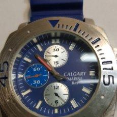 Relojes: RELOJ CALGARY MARINE QUARZO. Lote 122225979