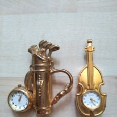 Relojes: RELOJ DE SOBREMESA MINIATIRA OASIS (LOTE DE 2). Lote 122362399