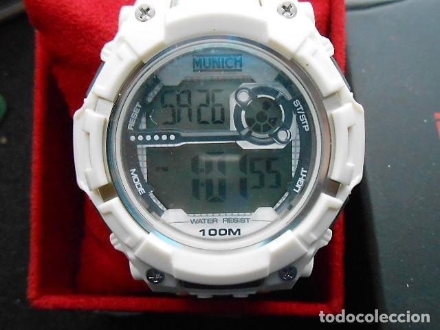 Relojes: RELOJ MUNICH BLANCO. NUEVO, CON CAJA ORIGINAL - Foto 2 - 122471859