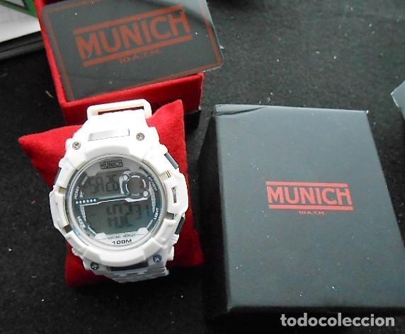 Relojes: RELOJ MUNICH BLANCO. NUEVO, CON CAJA ORIGINAL - Foto 3 - 122471859