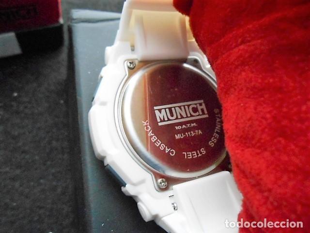 Relojes: RELOJ MUNICH BLANCO. NUEVO, CON CAJA ORIGINAL - Foto 4 - 122471859