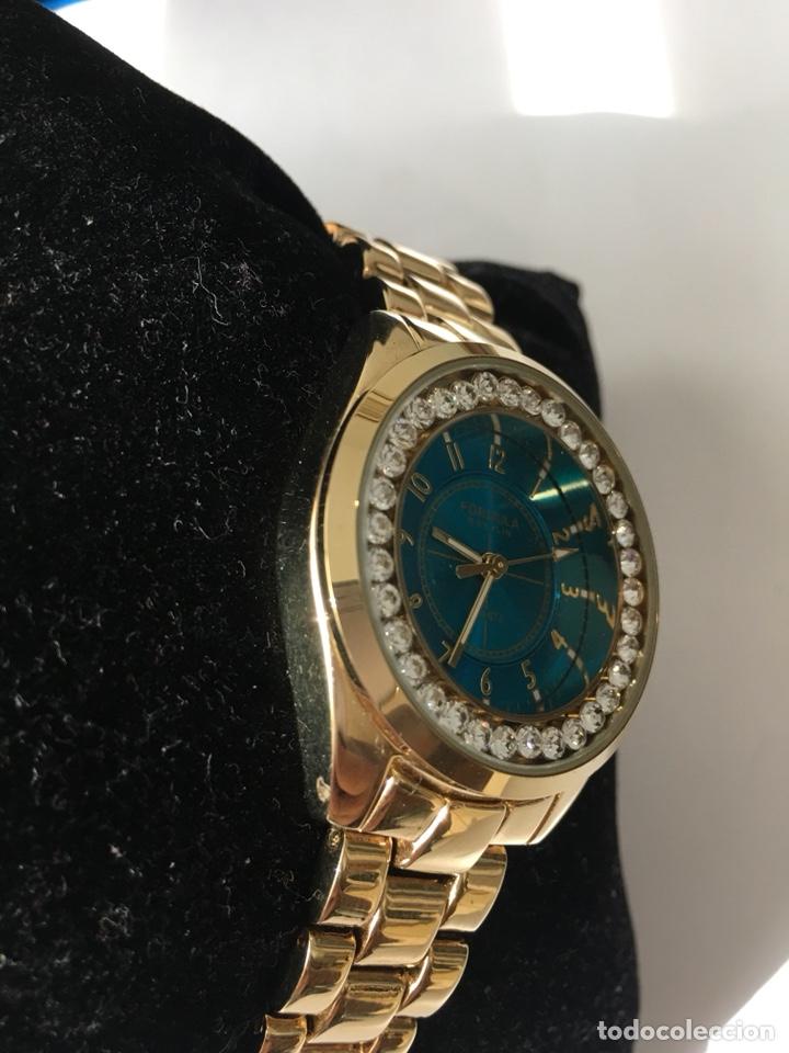 e790f08f9f0f Relojes  Reloj Formula Roselin chapado y con Corona de piedras Nuevo en su  caja -