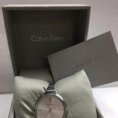 Relojes: RELOJ CALVIN KLEIN DE MUJER EN SU CAJA. Lote 123518294