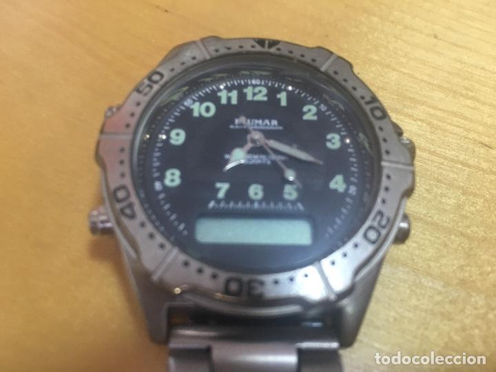 Relojes: RELOJ BLUMAR. ANALOGICO Y DIGITAL. PRINCIPIOS DE LOS 90. RARO. - Foto 2 - 124184811