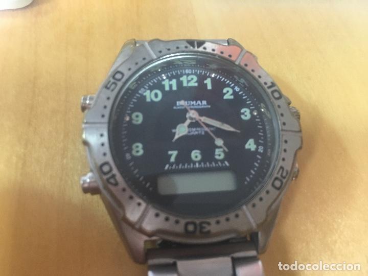 Relojes: RELOJ BLUMAR. ANALOGICO Y DIGITAL. PRINCIPIOS DE LOS 90. RARO. - Foto 3 - 124184811