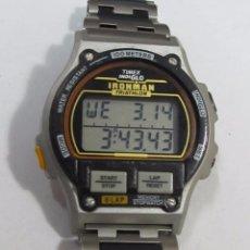 Relojes: RELOJ DIGITAL TIMEX INDIGLO, IRONMAN TRIATHLON. Lote 124213235
