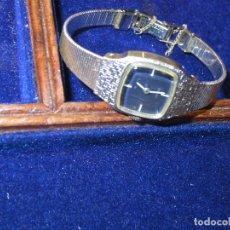 Relógios: ELEGANTE Y LUJOSO RELOJ EN PLATA ANTIGUO SEIKO JAPON W G.P DE SEÑORA FUNCIONANDO DE CUERDA. Lote 124346115