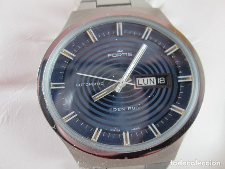 Relojes: reloj-fortis-eden rock-automático-suizo-40 mm sin corona-grueso-precioso-ver fotos+descripción - Foto 3 - 125446187