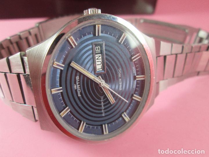 Relojes: reloj-fortis-eden rock-automático-suizo-40 mm sin corona-grueso-precioso-ver fotos+descripción - Foto 4 - 125446187