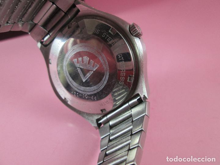 Relojes: reloj-fortis-eden rock-automático-suizo-40 mm sin corona-grueso-precioso-ver fotos+descripción - Foto 5 - 125446187