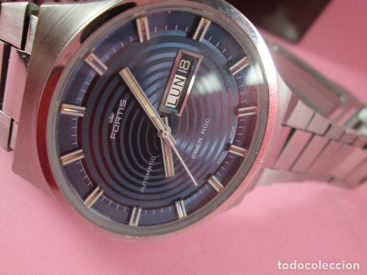 Relojes: reloj-fortis-eden rock-automático-suizo-40 mm sin corona-grueso-precioso-ver fotos+descripción - Foto 7 - 125446187