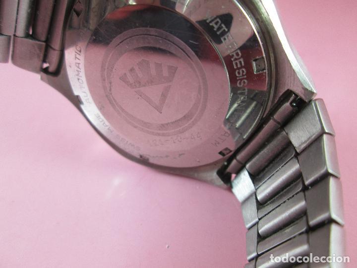 Relojes: reloj-fortis-eden rock-automático-suizo-40 mm sin corona-grueso-precioso-ver fotos+descripción - Foto 8 - 125446187