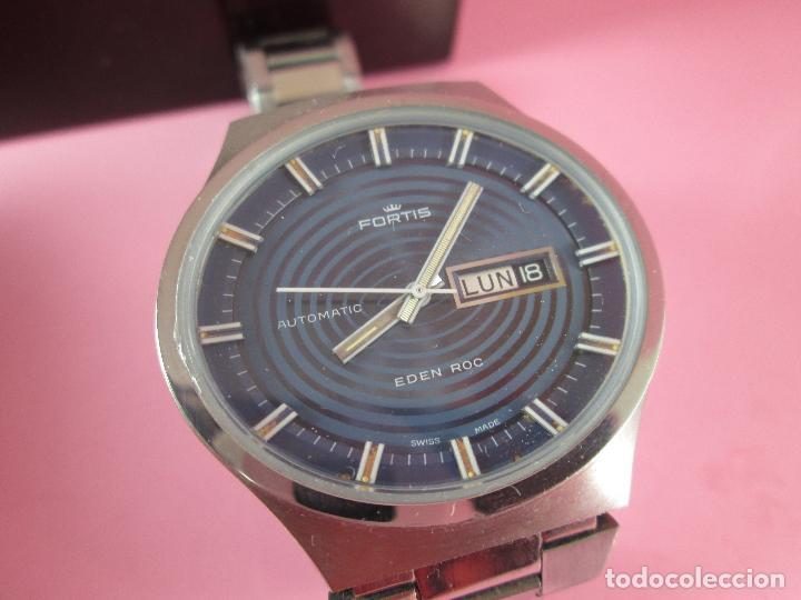 Relojes: reloj-fortis-eden rock-automático-suizo-40 mm sin corona-grueso-precioso-ver fotos+descripción - Foto 9 - 125446187