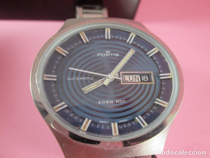 Relojes: reloj-fortis-eden rock-automático-suizo-40 mm sin corona-grueso-precioso-ver fotos+descripción - Foto 10 - 125446187