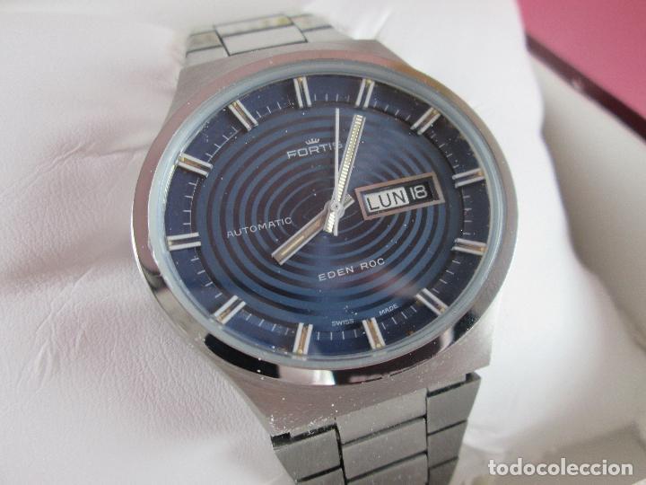 Relojes: reloj-fortis-eden rock-automático-suizo-40 mm sin corona-grueso-precioso-ver fotos+descripción - Foto 14 - 125446187