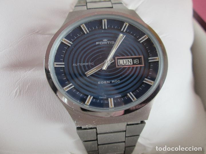 Relojes: reloj-fortis-eden rock-automático-suizo-40 mm sin corona-grueso-precioso-ver fotos+descripción - Foto 15 - 125446187