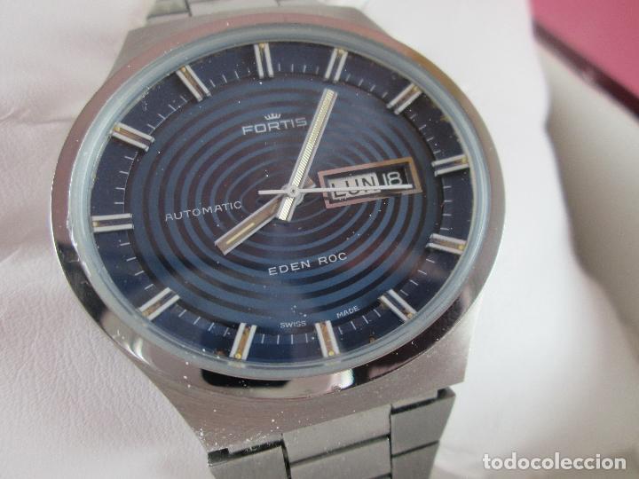 Relojes: reloj-fortis-eden rock-automático-suizo-40 mm sin corona-grueso-precioso-ver fotos+descripción - Foto 17 - 125446187