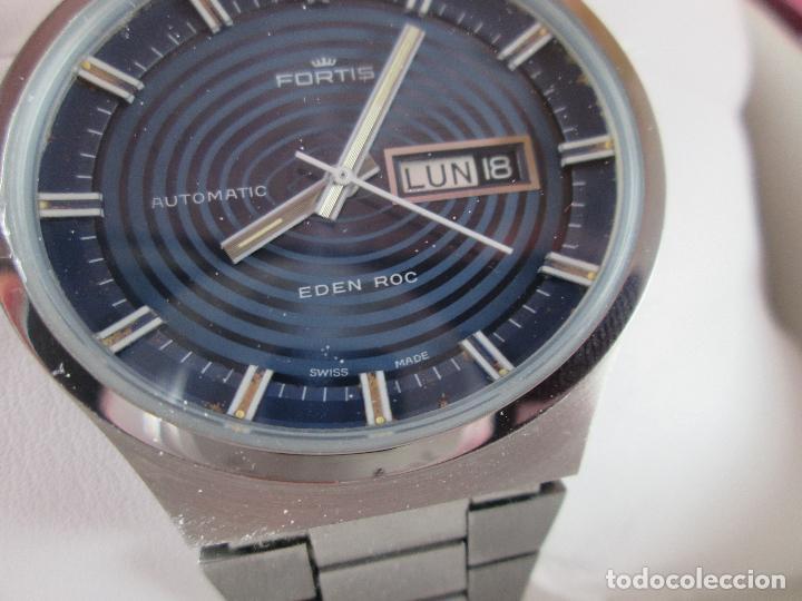Relojes: reloj-fortis-eden rock-automático-suizo-40 mm sin corona-grueso-precioso-ver fotos+descripción - Foto 18 - 125446187