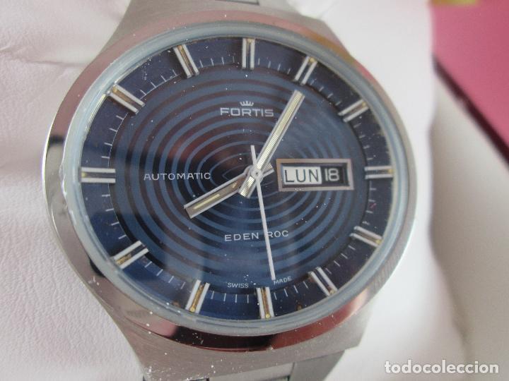 Relojes: reloj-fortis-eden rock-automático-suizo-40 mm sin corona-grueso-precioso-ver fotos+descripción - Foto 20 - 125446187
