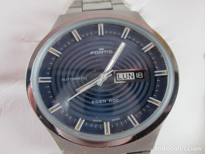 Relojes: reloj-fortis-eden rock-automático-suizo-40 mm sin corona-grueso-precioso-ver fotos+descripción - Foto 21 - 125446187