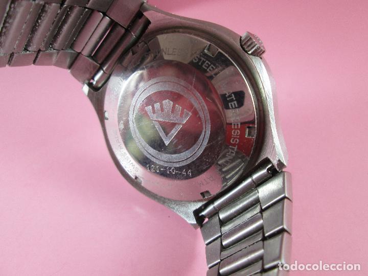 Relojes: reloj-fortis-eden rock-automático-suizo-40 mm sin corona-grueso-precioso-ver fotos+descripción - Foto 23 - 125446187