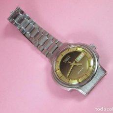 Relojes: ANTIGUO RELOJ-OSAKI-41 MM D.CON CORONA-REVISADO-FUNCIONANDO-CORREA ACERO-VER FOTOS. Lote 63699563