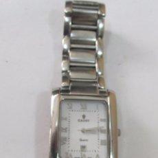 Relojes: RELOJ CAUNY DE CUARZO CON CALENDARIO. Lote 126109723