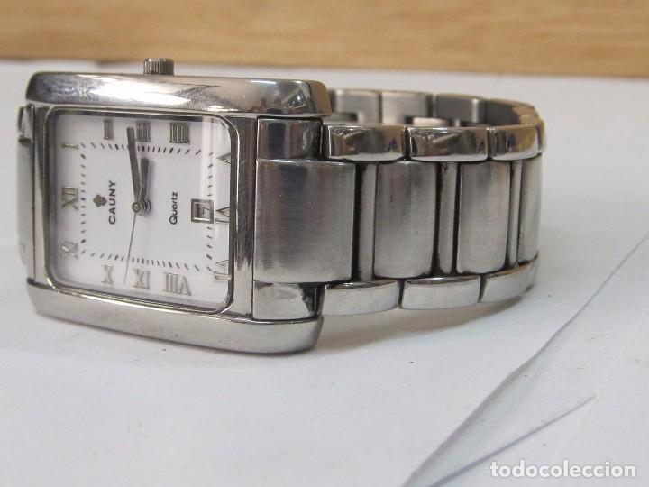 Relojes: RELOJ CAUNY DE CUARZO CON CALENDARIO - Foto 4 - 126109723